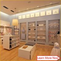 Buy cheap Nice design fashion wood baby apparel display,baby clothes display furniture from wholesalers