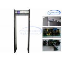Buy cheap LCD Screen Bilingual Walk Through Metal Detector Gate For Weapon Check from wholesalers