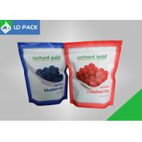 Buy cheap Easy-using Stand-up Pouch Printable bottom and Tear Notch Matte & White from Wholesalers