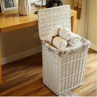 Buy cheap Rectangular willow baskets with liners from wholesalers