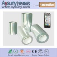 Buy cheap Hot selling transparent mobile screen protector film roll phone PET screen guard rolls from wholesalers