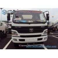 Buy cheap Foton Aumark Stainless steel Water Tanker Truck 2 Axles 4 * 2 Drive 6000 L - 7000 L 115 hp from wholesalers