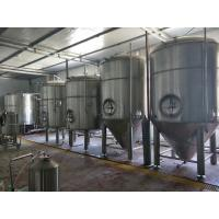 Buy cheap Large Scale Industrial Beer Brewing Equipment 3000l 5000l Adjustable Voltage from wholesalers