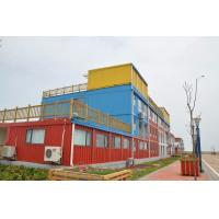 Buy cheap CE sandwich panel house modern Prefabricated Container Hotel Design from wholesalers