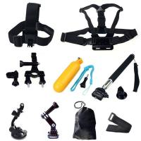 Buy cheap GoPro Hero Accessories Set Helmet Harness Chest Belt Head Mount Strap Monopod from wholesalers