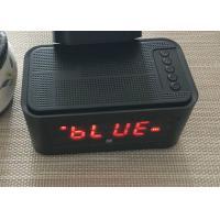 DC 5V USB Bluetooth 4.0 Alarm Clock Speaker Wireless FCC CE Certification