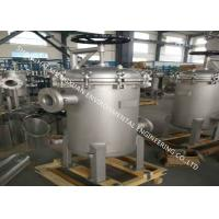 Buy cheap SS 304 Material Multi Bag Filter Housing Sanitary With 150PSI Working Pressure from wholesalers