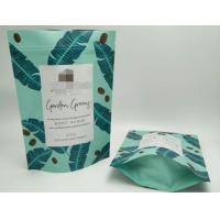 Buy cheap Body Scrub  Bath Salt Packaging Bags 250g 500g High Safty With Green Color from wholesalers