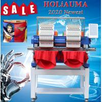 Buy cheap HO1502H 400*500mm 15 colors type Computer 2 head laser schiffli embroidery machine from wholesalers