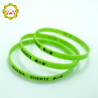 Buy cheap New design pulseras de silicona de china, OEM is welcomed China silicone bracelet,silicone wristband from wholesalers