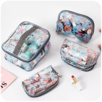 Buy cheap Custom Logo Clear Travel Portable Make Up PVC Cosmetic Bag from wholesalers
