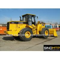 Buy cheap Wheeled Front End Loader 4M³ Bucket , 175kN Breakout Force Payloader Machine from wholesalers