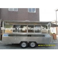 Buy cheap CE Approved Food Concession Trailers Fast Mobile Food Vans Stall from wholesalers