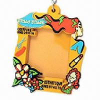 Buy cheap Lovely photo frame, made of resin and PVC, customized designs are accepted product