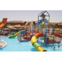 Buy cheap Small Colorful Water Playground Equipment Enclosed Slide For Kids And Water Park product