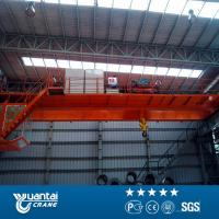 Buy cheap Yuantai last big discount Engineers service 20 ton double girder overhead crane for sale from wholesalers