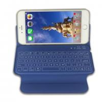 Buy cheap Durable Slim Bluetooth Keyboard With Leather Case Apple Iphone 6 Plus Use product