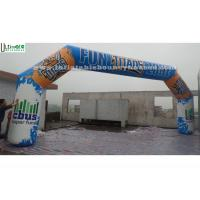 Buy cheap Outdoor Advertising Inflatable Arches Made Of 1st Class PVC Tarpaulin from wholesalers