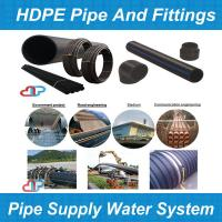 Buy cheap pe hd rohr/pe gas pipe/hdpe pipe/hdpe rohr/poly pipe/tubo pead/hdpe pipe sizes from wholesalers