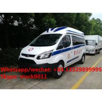 Buy cheap 2020 new best seller  Euro 5 diesel emergency ambulance bus for sale, factory sale best price ICU ambulance vehicle from wholesalers
