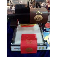 Buy cheap TJ-219 digital Gold foil Vinyl sticker hot stamping printing machine from wholesalers