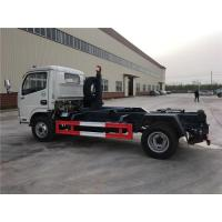 Buy cheap 4 Ton-5 Ton Hooklift Arm Waste Removal Trucks Garbage Container Pulling Dongfeng product