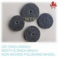 Buy cheap non woven abrasive polishing wheel from wholesalers