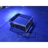 Buy cheap Hexahedron Sapphire Parts Optical Light Guide Block Lens For Laser Cosmetic Instrument from wholesalers
