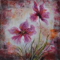 Buy cheap decoration flower oil painting for hotel from wholesalers
