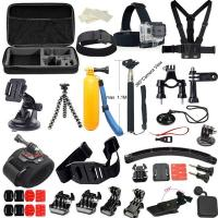 Quality Outdoor Sports Set GoPro Accessories 20 IN 1 Family Kits Chest Belt Head Mount Strap for sale