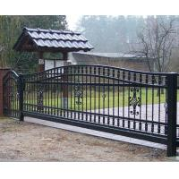 Buy cheap Ornamental Wrought Iron Front Door from wholesalers