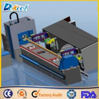 Buy cheap 1000W Fiber Metal Tube Laser Cutting Machine 8mm Steel Pipe Laser Cutter Factory Sale from wholesalers