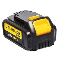 Buy cheap 20V 5.0Ah Rechargeable li-ion Battery Power Tool Battery for Dewalt DCB200 from wholesalers