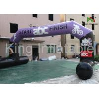 Buy cheap Red Outdoor 9x4m  Durable Inflatable Banners Arches For Events Or Promotion from wholesalers