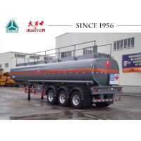 Buy cheap 30000 Liters 3 Axles Fuel Tanker Trailer Customized Capacity Long Service Life from wholesalers