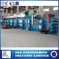 Buy cheap Roof Wall Panel PU Sandwich Panel Production Line With Double Belt Conveyor from wholesalers