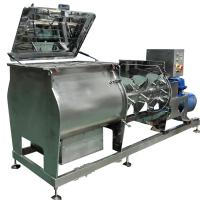 Buy cheap SUS304 whey protein powder open type double shaft paddle mixer from wholesalers