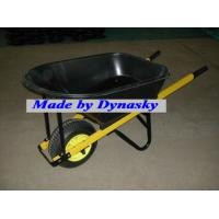 Buy cheap Heavy Duty Poly Bucket Garden Wheelbarrow-WB8612 with Big Wheel from wholesalers