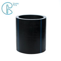 Buy cheap Black SDR11 SDR17 Plastic Polyethylene HDPE Pipe from wholesalers