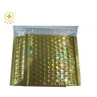 Buy cheap Colorful aluminum foil bubble jiffy golden metallic foil mailer from wholesalers