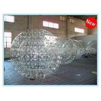 Buy cheap PVC Clear Inflatable Zorb Ball / Inflatable Human Hamster Ball For Inflatable Zorb Ramp from wholesalers