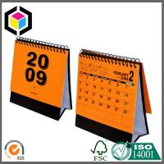 Buy cheap Full Color Print Calendar Printing Service; Spiral Custom Design Calendar Print from wholesalers