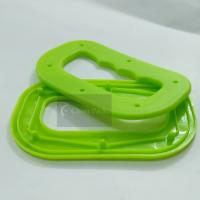 Buy cheap Polypropylene Plastic Bag Handles Smooth Surface With 72mm Inner Hole Length from wholesalers