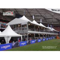 Buy cheap Double Decker Exhibiiton Event High Peak Tents With Glass ABS Walls from wholesalers