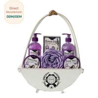 Buy cheap Travel Home Spa Gift Set 24.5*5.5*15 Personal Bath Cleaning OEM Service from wholesalers