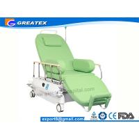 Buy cheap Hospital Clinic Electric Adjustable Passion Dialysis Chairs With Flat Bed Position from wholesalers