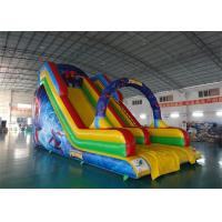 Buy cheap Inflatable Water Slide With Arches For Water Park Amusement Games from wholesalers