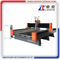 Buy cheap 4*8 feet Heavy duty Metal Wood Stone CNC Router with air cylinder ZK-1325 1300*2500mm product