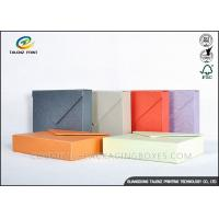 Buy cheap Multiple Colors Jewellery Presentation Boxes , Cardboard Jewelry Boxes Enchanting Design from wholesalers