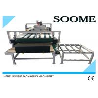 Buy cheap Electrical Corrugated Folder Gluer Machine Durable For Domestic / Industrial from wholesalers
